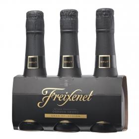 Cava Freixenet brut pack de 3 botellas de 20 cl.