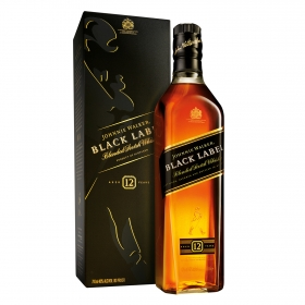 Whisky Johnnie Walker escocés  12 años 70 cl.