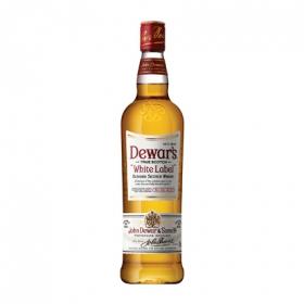 Whisky Dewar's White Label escocés