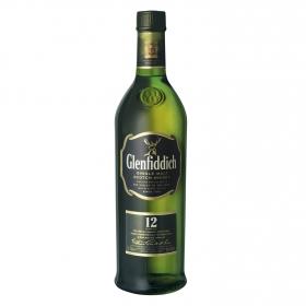 Whisky Glenfiddich escocés 12 años 70 cl.