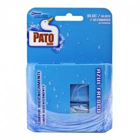 Desodorizante WC en pastilla Azul Fresco