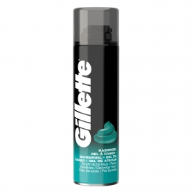 Gel piel sensible Gillette 200 ml.