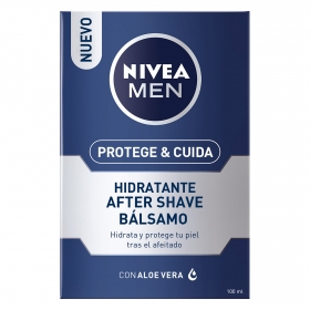Protege & Cuida Bálsamo After Shave Hidratante Nivea Men 100 ml.