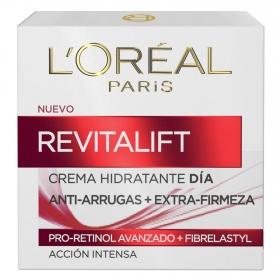 Crema de día antiarrugas + firmeza L'Oréal-Revitalift 50 ml.
