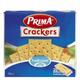 Crackers Tradicional Prima 500 g.