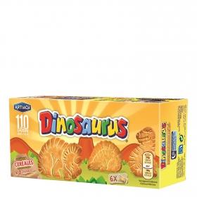 Galletas de cereales con vitaminas Dinosaurus