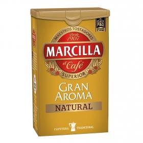 Café molido natural Gran Aroma Marcilla 250 g.
