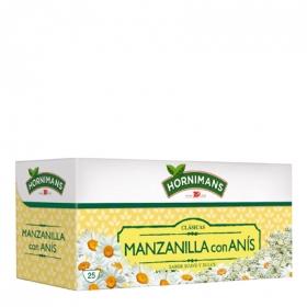 Manzanilla con anís en bolsitas Hornimans 25 ud.