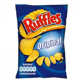 Patatas fritas onduladas Ruffles 200 g.