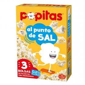 Palomitas saladas para microondas