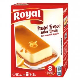 Preparado para pastel fresco sabor limón Royal 103 g.