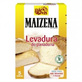 Levadura de panadería Maizena 138 g.