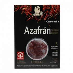 Azafrán en hebras Carmencita 0,375 g