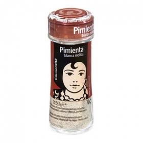 Pimienta blanca molida Carmencita 50 g.