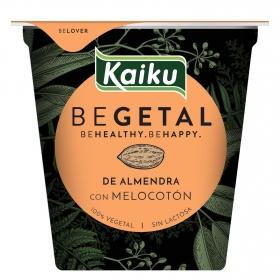 Preparado de almendra con melocotón  Begetal Kaiku sin lactosa 145 g.