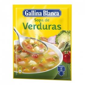 Sopa de verduras Gallina Blanca 57 g.
