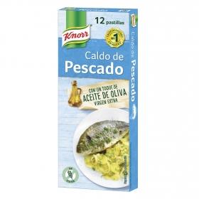 Caldo de pescado Knorr sin gluten 12 ud.