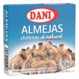 Almejas chilenas 16/26 Dani 138 g.