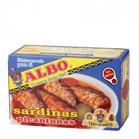 Sardinas picantonas Albo 120 g.