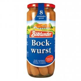 Salchichas Bockwurst Böklunder 720 g.