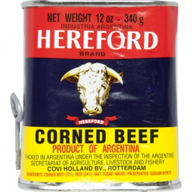 Carne de vacuno Hereford 340 g.