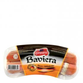 Salchichas cocidas y ahumadas estilo Baviera Campofrío 260 g.