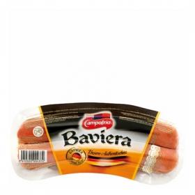 Salchichas cocidas y ahumadas estilo Baviera