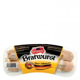 Salchichas cocidas Bratwurst Campofrío 260 g.