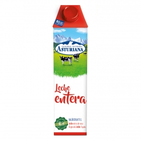 Leche entera Central Lechera Asturiana brik 1 l.