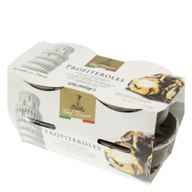 Profiteroles Chef Dessert pack de 4 unidades de 80 g.