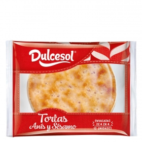Tortas anís DulceSol 400 g.