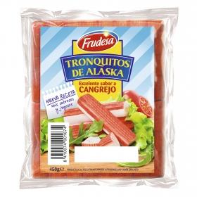 Tronquitos de Alaska sabor cangrejo