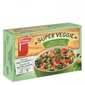 Super Veggie brócoli, trigo sarraceno y alubias Findus 400 g.