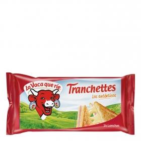 Queso en lonchas Tranchettes pack de 14 unidades de 17,5 g.