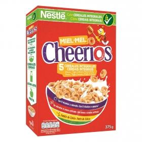 Anillos de cereal, avena integral tostado y miel