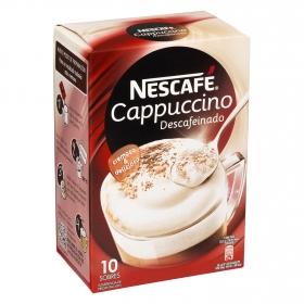 Café Cappuccino descafeinado en sobres