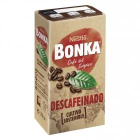 Café molido natural descafeinado del Trópico