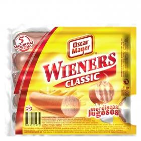 Salchichas cocidas estilo Viena Wieners Oscar Mayer 200 g.