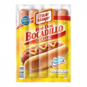 Salchichas cocidas Wieners bocadillo