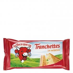 Queso en lonchas Tranchettes pack de 24 unidades de 18,75 g.