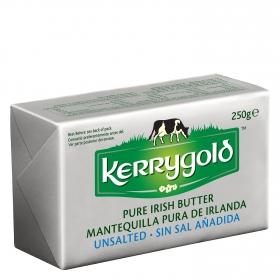 Mantequilla sin sal añadida Kerrygold 250 g.