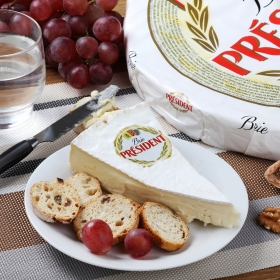 Queso brie Presiden Corte Triangular