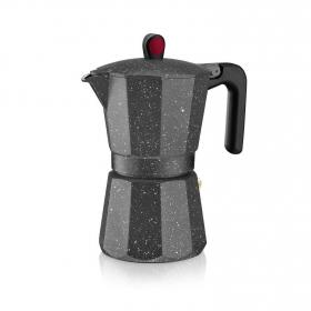 Cafetera Inducción MONIX 6 Tazas - Negro