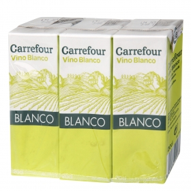 Vino blanco minibrik