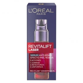 Serum anti-edad Revitalift Láser X3 L'Oréal-Revitalift 30 ml.