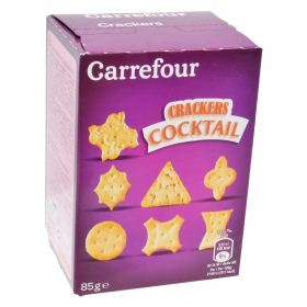 Crackers cocktail Carrefour 85 g.