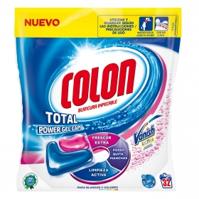Detergente en cápsulas Vanish Ultra Colon 32 ud.