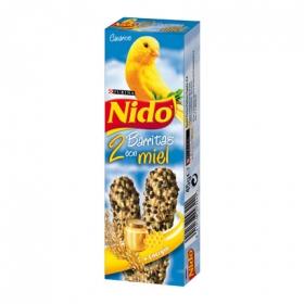 Complemento Alimenticio para Canario Purina Nido Barritas con Miel 45 gr