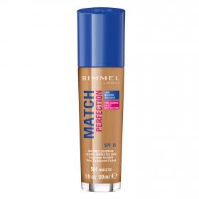 Base de maquillaje Match Perfection nº 501 Rimmel 30 ml.
