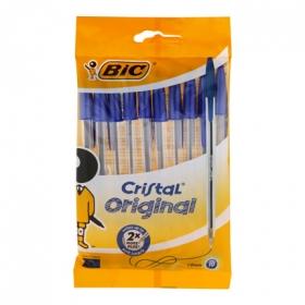 Bolígrafos Azules